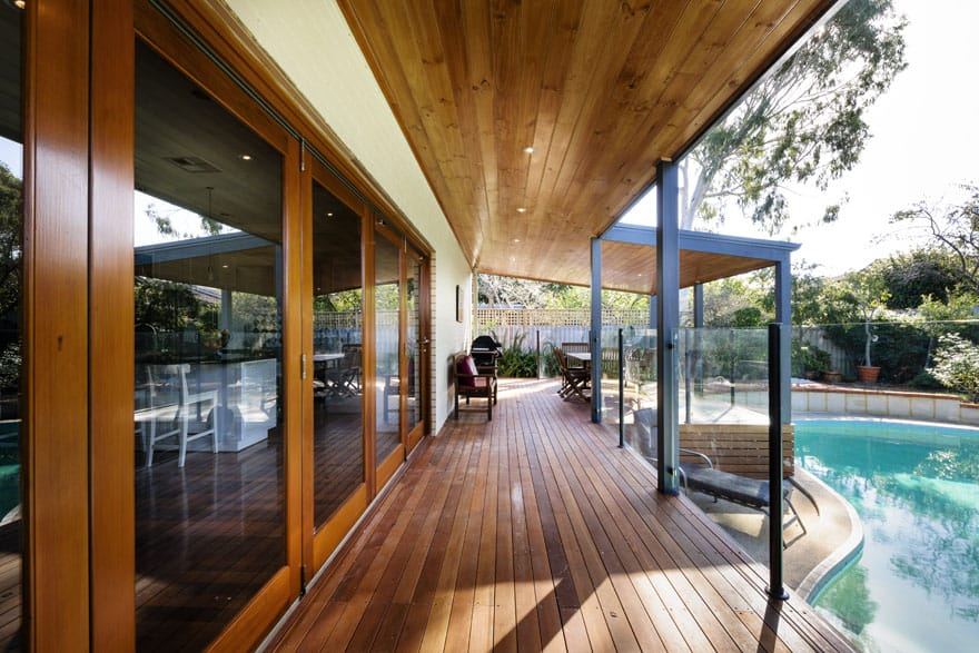 A Deck Can Be The Perfect Place To Watch The Sun Set Over The Pool,